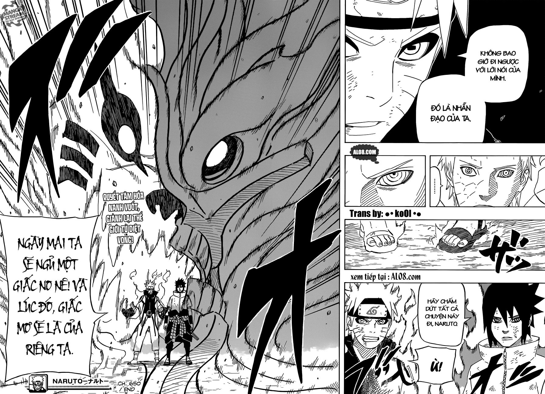 Naruto chap 650 Trang 15