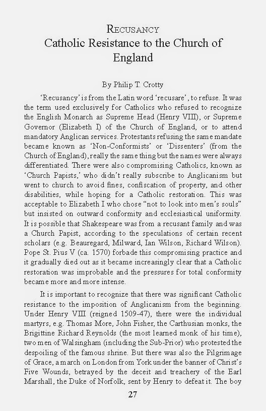 anglicanism and roman catholicism essay What are the main differences between anglicanism and catholicism up vote 7 down vote favorite the anglican church came from the roman catholic church about the same time as the reformation.