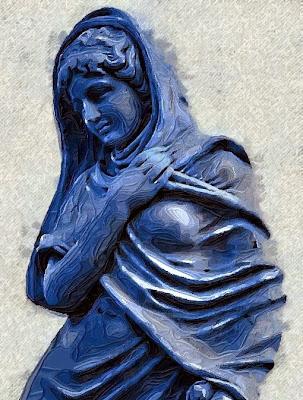 Donzella en blau (Toni Arencón i Arias)