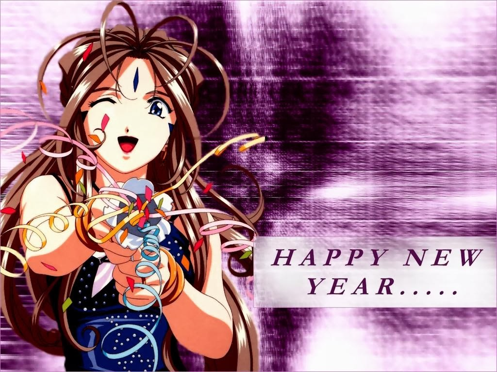 Resultado de imagem para anime feliz ano novo