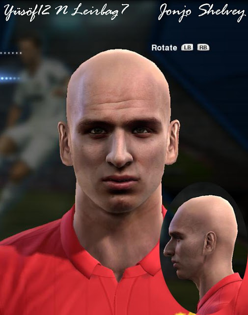 Jonjo Shelvey Face - PES 2013