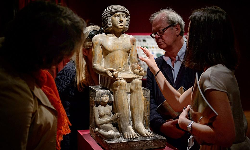 Egypt launches appeal to buy back Sekhemka statue