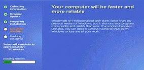 Proses Instalasi Windows XP..