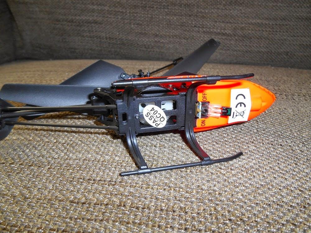 helicóptero infrarrojos nincoair