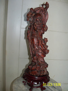 Patung Kuningan Bodhi Dharma