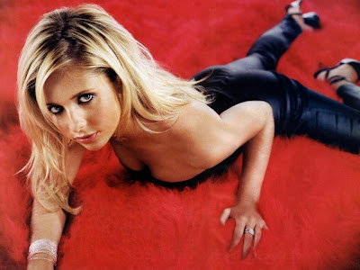 buffy la cazavampiros, descuido, en pelota, fotos prohibidas, Hot, peliculas, Sarah Michell Gellar, video