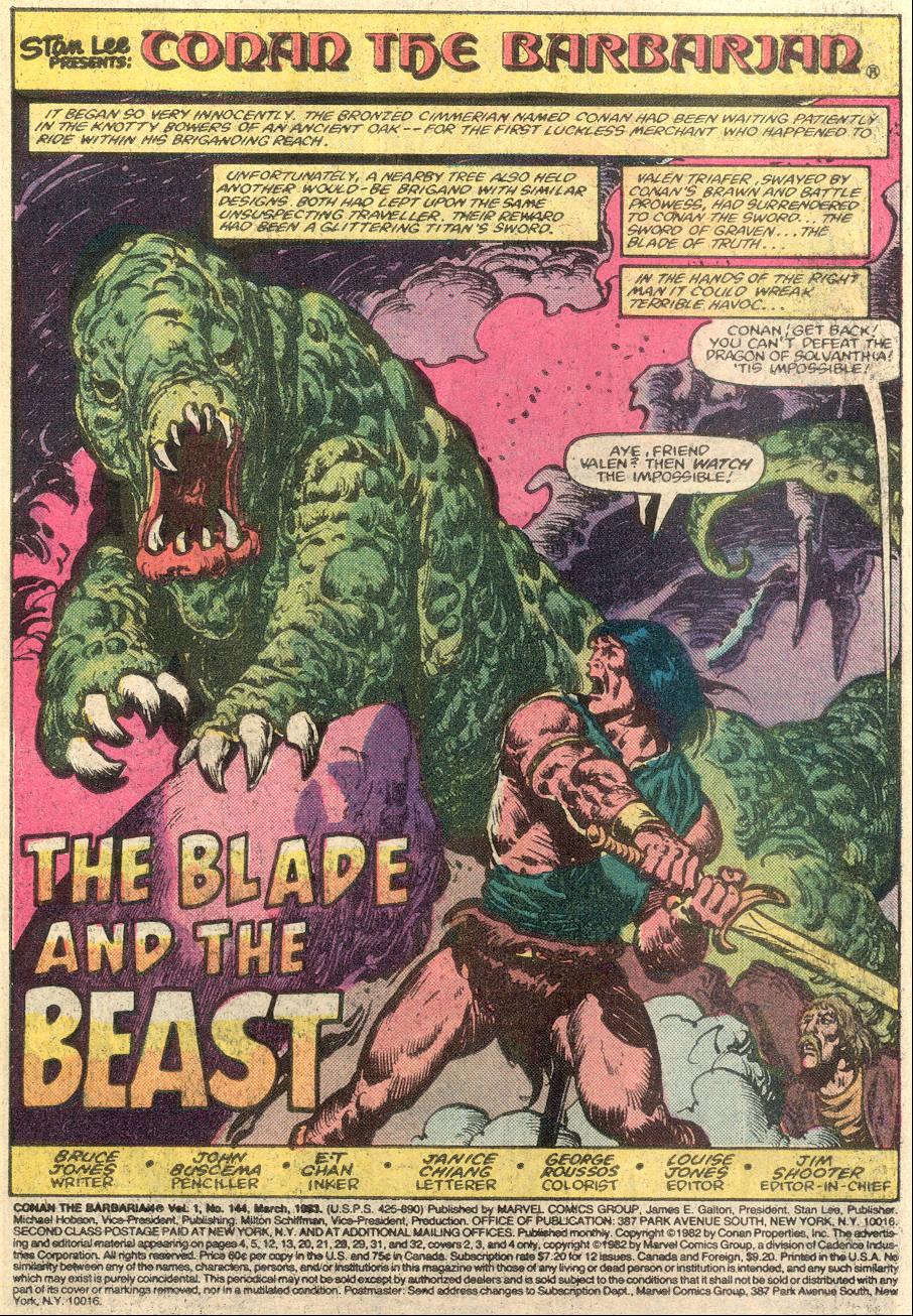 Conan the Barbarian (1970) Issue #144 #156 - English 2