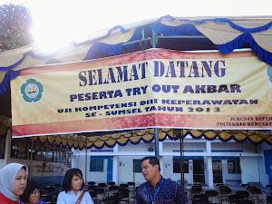 Try Out Uji Kompetensi se Sumatera Selatan