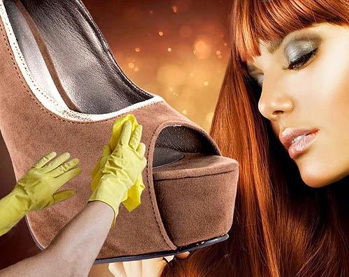Cara Membersihkan Sepatu Beludru 07ff445643