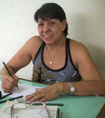 SONIA DIAS, ARTISTA PLÁSTICA FAZ APERFEIÇOAMENTO DE TECNICAS DE DESENHO NA ESCOLA EBAC.