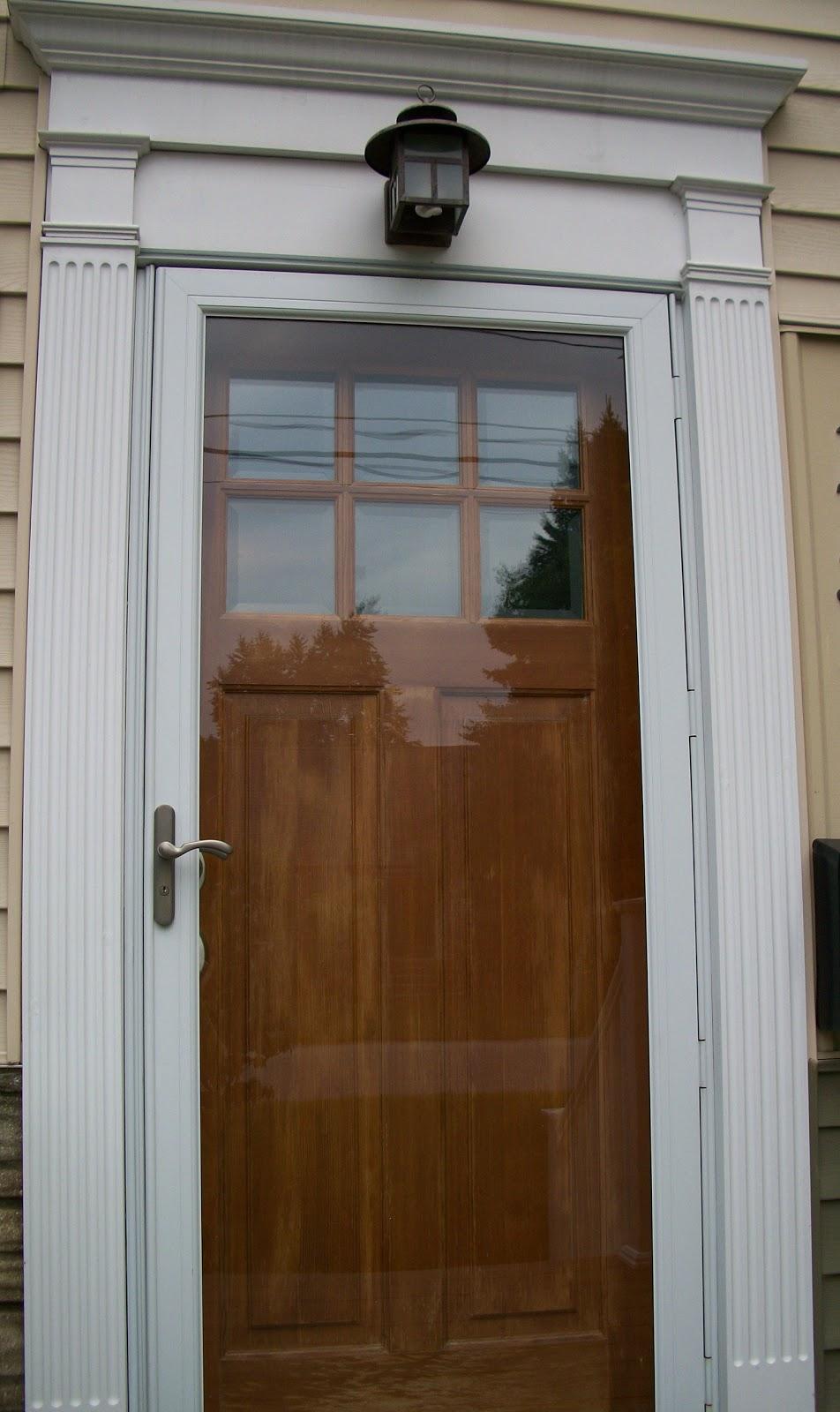 Aluminum Trim For Exterior Doors : Sixty fifth avenue the front door part one