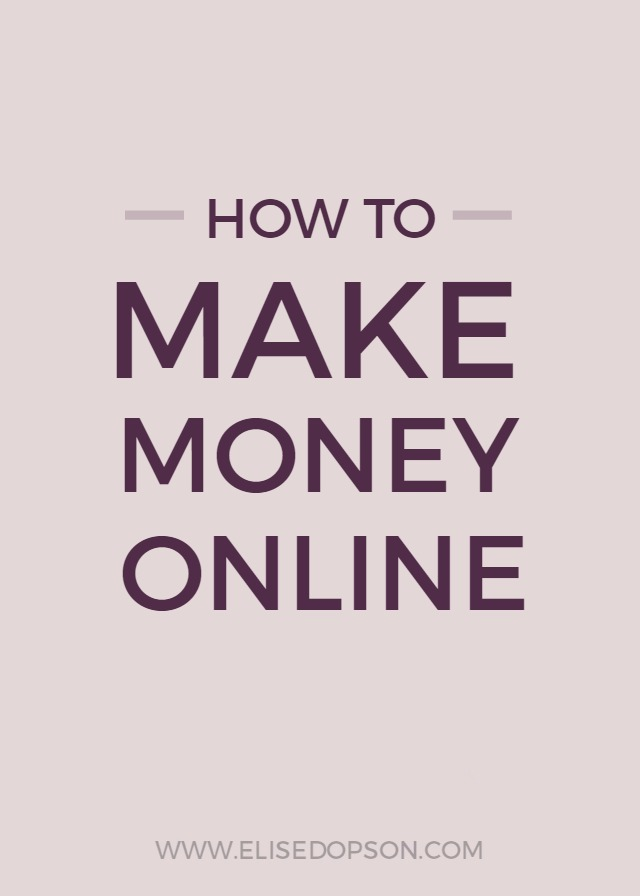 how to make easy money online fast