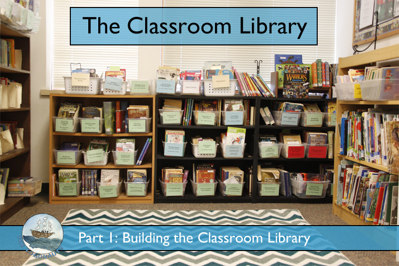 Building a Classroom Library | The Logonauts