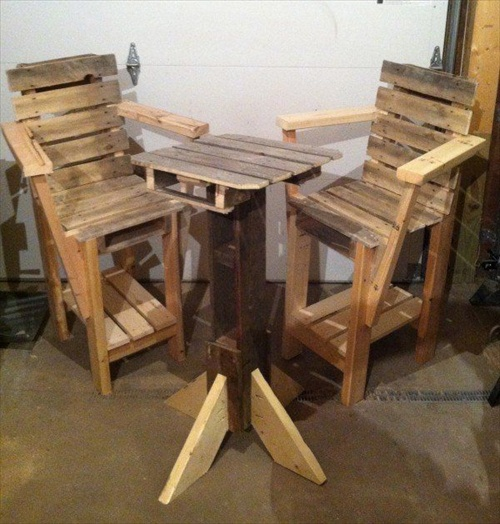 Pallet Furniture Plans Table