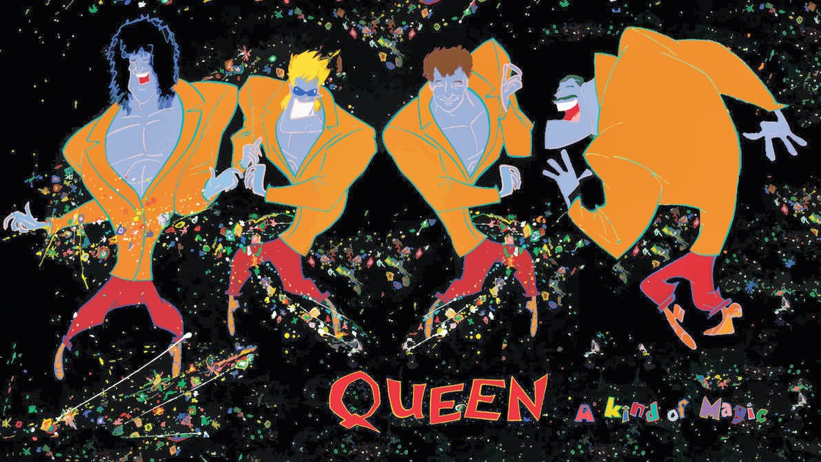 Queen Album Covers Guitar Lessons: Queen ...