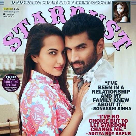 Sonakshi & Adiya Roy photo shoot for Stardust magazine