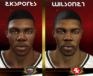 NBA 2K13 Joe Johnson Cyber Face Mods