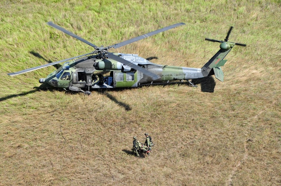 UH-60 black hawk ejercito colombia