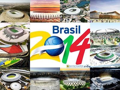 Copa do Mundo no Brasil... Benefícios ou malefícios? Quais resultados ficarão?