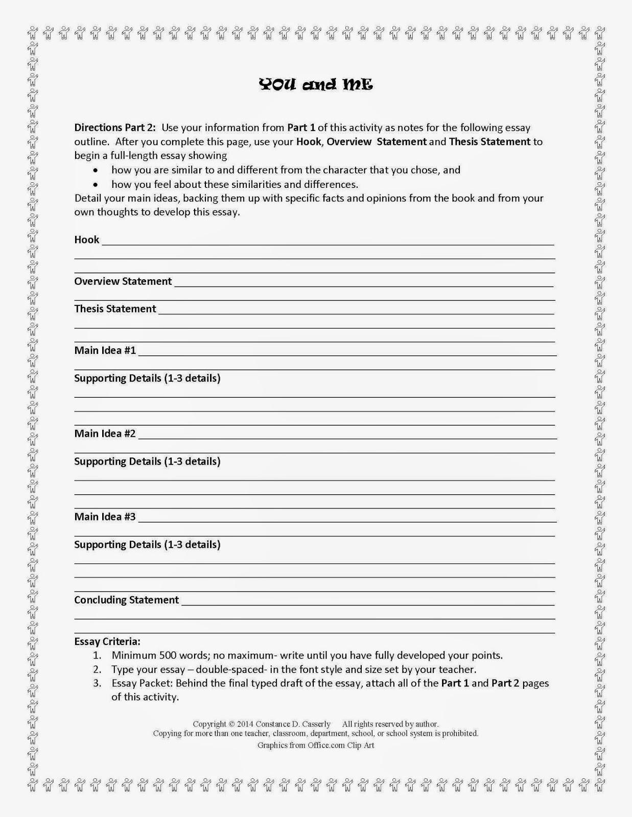 500 word creative writing essay