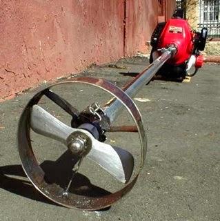 Как из триммера сделать лодочный мотор фото 352