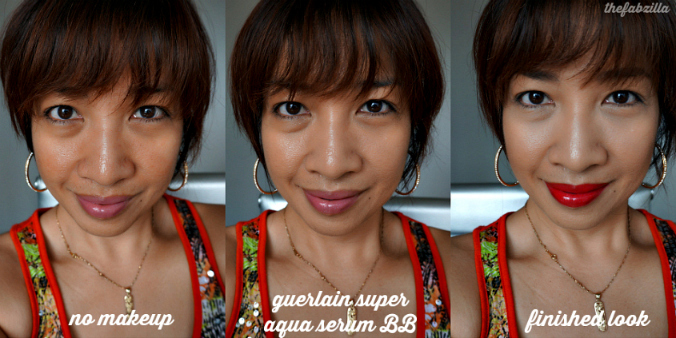 Guerlain Super Aqua-Serum BB Hydra+ (Moyen/Medium): Review, Swatch, Before/After