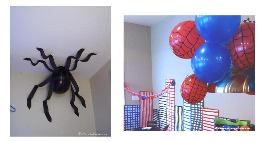 La linda esta de fiesta ideas para un cumplea os tem tico - Como hacer tela de arana ...