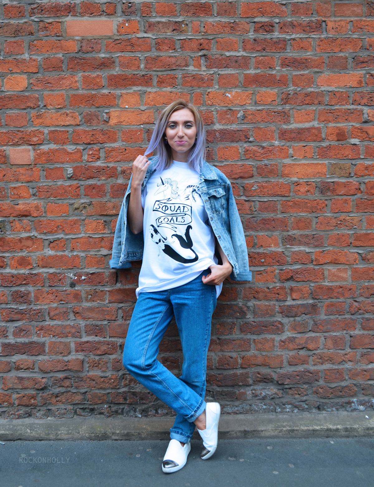 Squad Goals T-shirt from Rock On Ruby