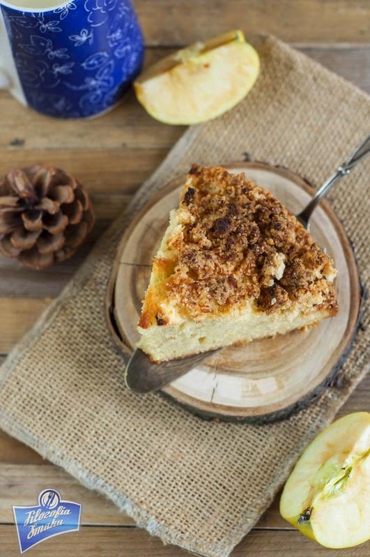 Ciasto z jabłkami i kruszonką przepis