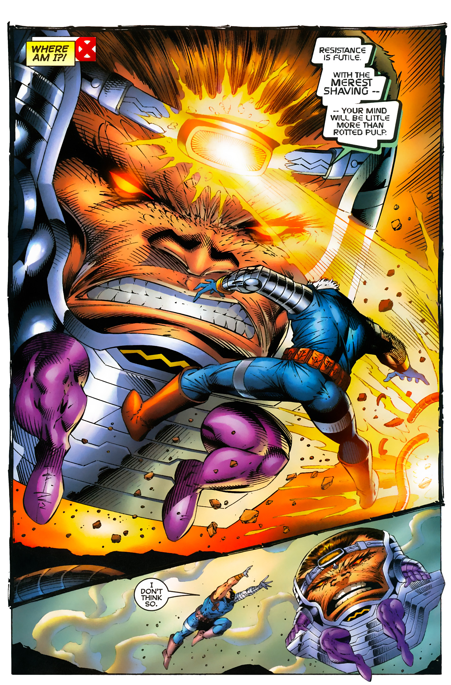 Captain America (1996) Issue #6 #6 - English 8