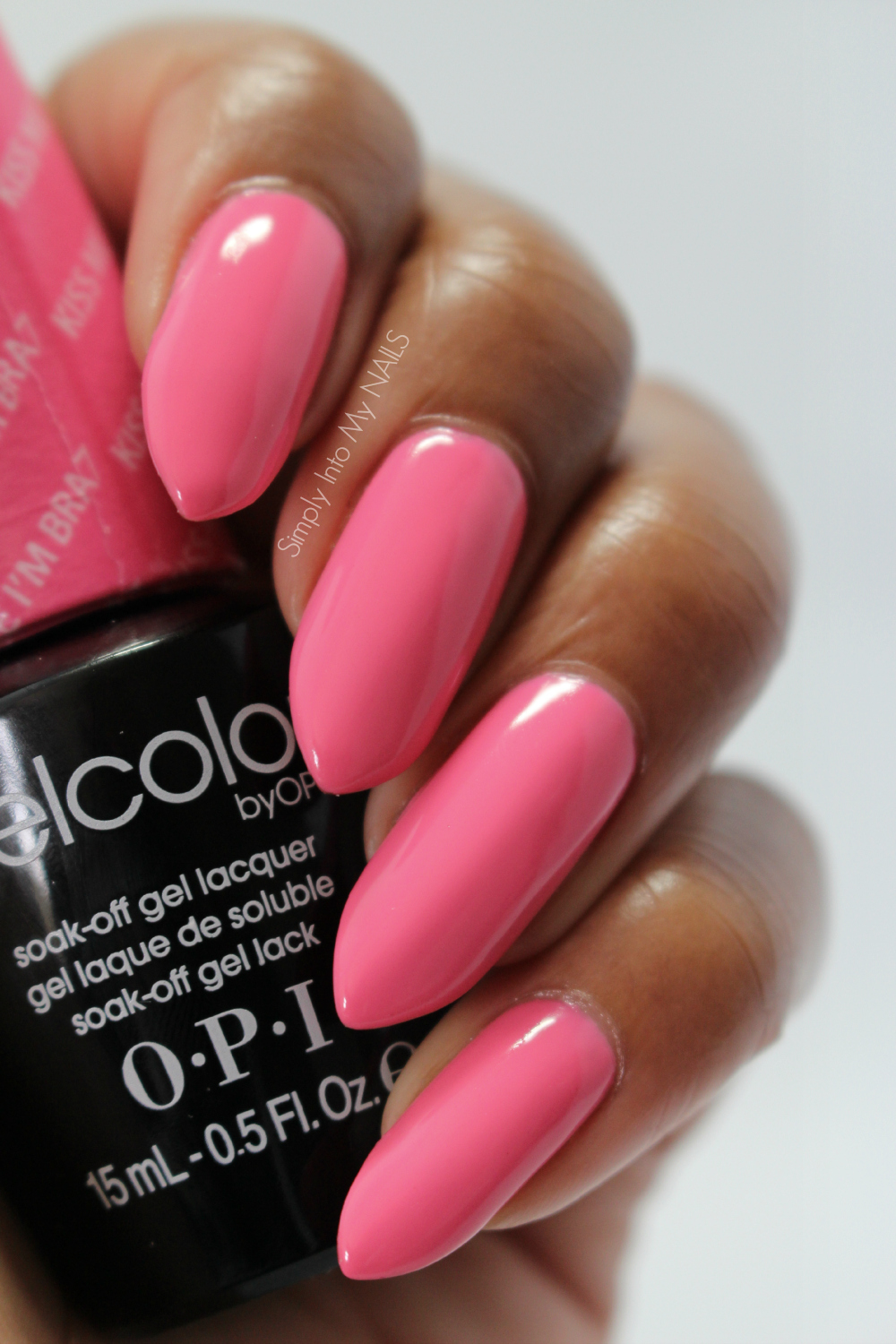 OPI Gelcolor Kiss Me I\'m Brazilian   Simply Into My NAILS