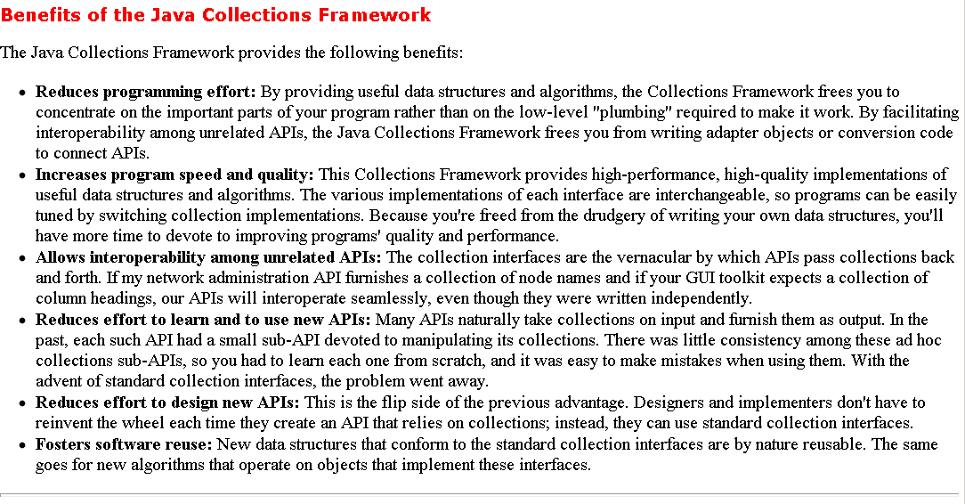 Question 2: What Are The Basic Interfaces In The Collection API? Basic  Interfaces In The Collection API Are: