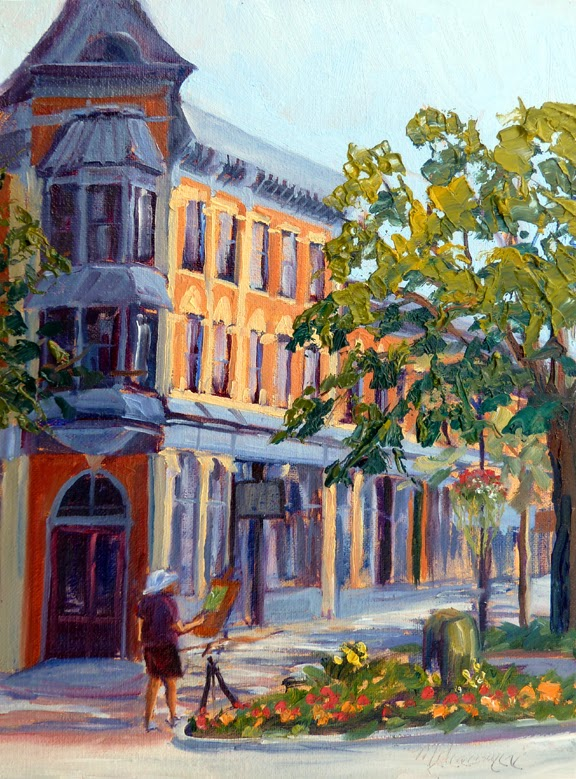 mary giacomini 39 s art updates pppa painting old town ft