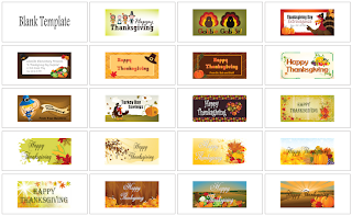Thanksgiving Banner Templates