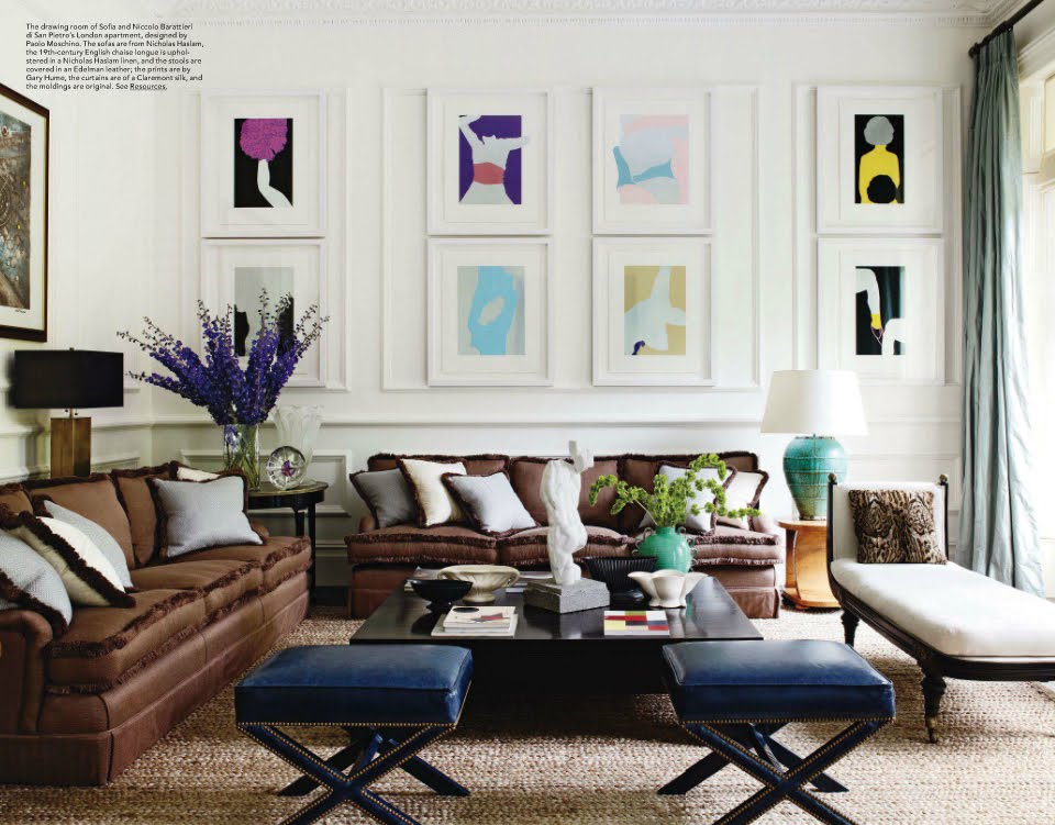 elle decor living room ideas STUDIO ANNETTA: September 2011