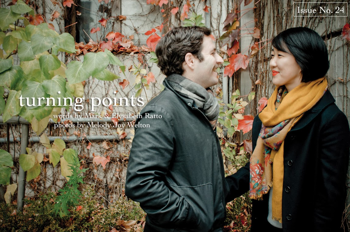 turning points by Mark and Elysabeth Ratto, Issue No. 24, re.write magazine, testimony, Mark Ratto, Elysabeth Ratto, relationship