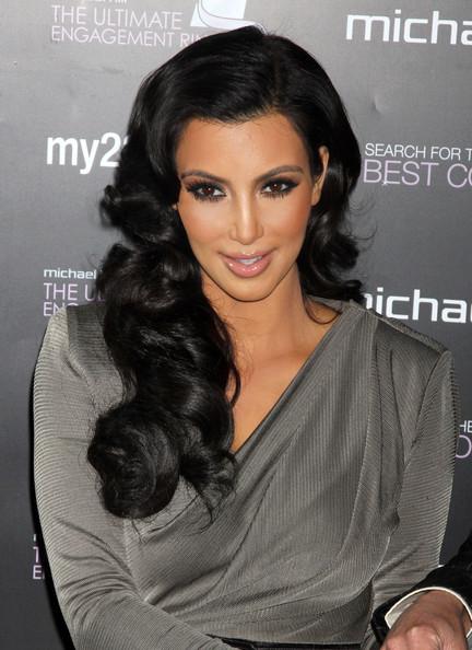 New Celebrity Cruises Kim Kardashian Curly Hair