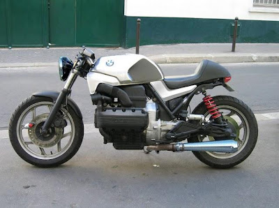 BMW K75S Cafe Racer projects ~ Bmw Kappa Studio