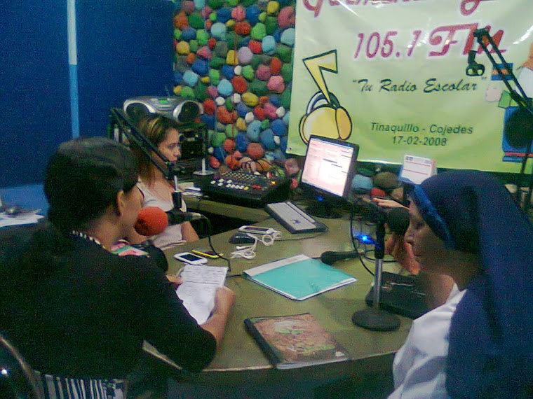 PASANTES DE ALOERT REALIZAN PRACTICAS EN GARMENDIA 105.1 FM