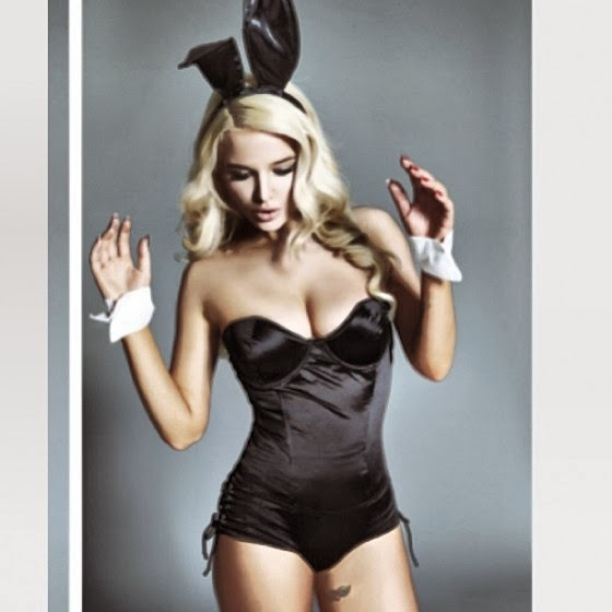 Magazine Photoshoot : Helen Flanagan Hot Bunny Photoshot For Playboy Magazine January 2014 Issue