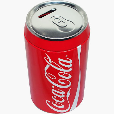 Hucha Lata de Cocacola