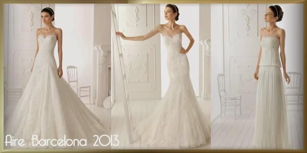 Collection Aire Barcelona 2013 propose des modèles à la fois simples et raffinés.