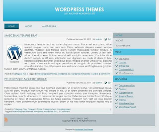 2 column wordpress theme