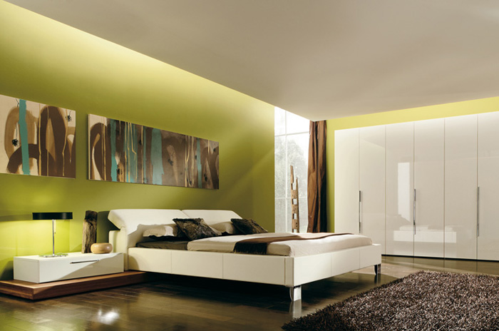 Ecopinturas fernandez decoraci n minimalista for Minimalist bedroom colors