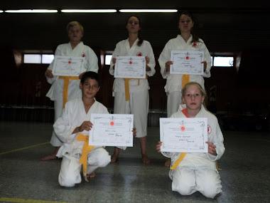 Los Nuevos Graduados de La escuela Municipal de Adolfo Alsina
