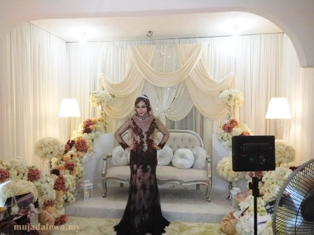 Majlis Perkahwinan Wan Diana Omar dan Hafiz, kisah nasi bungkus, merajuk dapat iphone 6, wan diana omar, adik fizo omar, majlis perkahwinan adik fizo omar