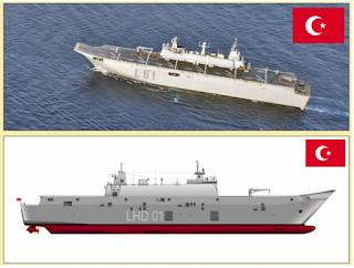 Η Τουρκία ετοιμάζει τη νέα ναυαρχίδα της! Το ANADOLU στην τελική ευθεία! ΒΙΝΤΕΟ