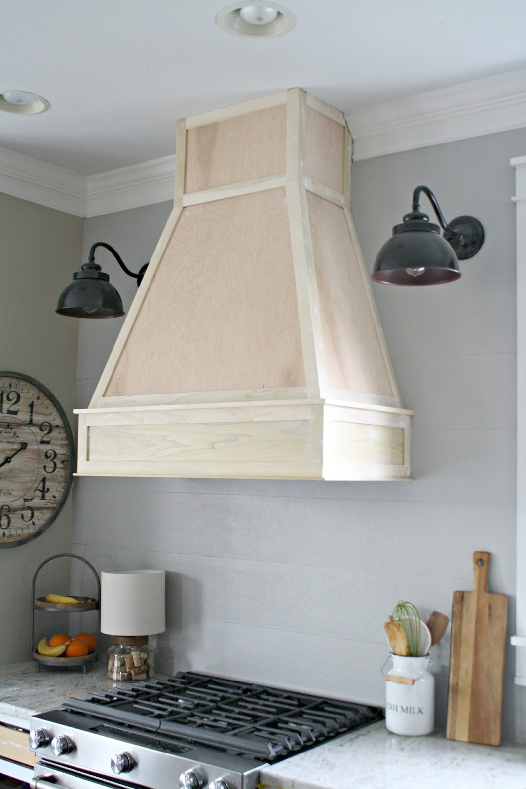 A DIY ish Wood Vent Hood Thrifty Decor Chick