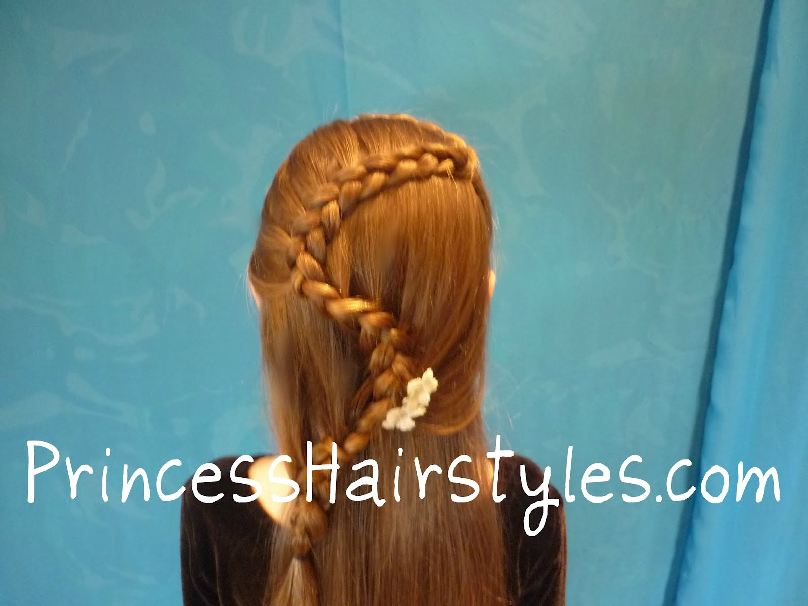 Winding snake braid hairstyles for girls princess hairstyles zig zag french braid ccuart Images