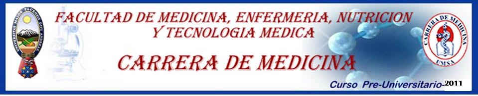 PREUNIVERSITARIO MEDICINA UMSA 2011